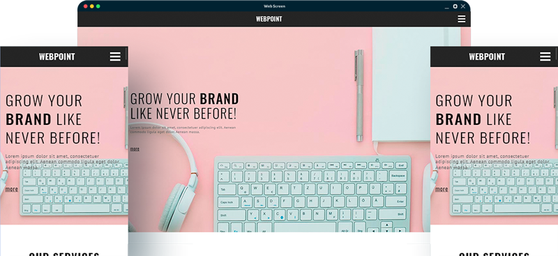 Website Template - Elect