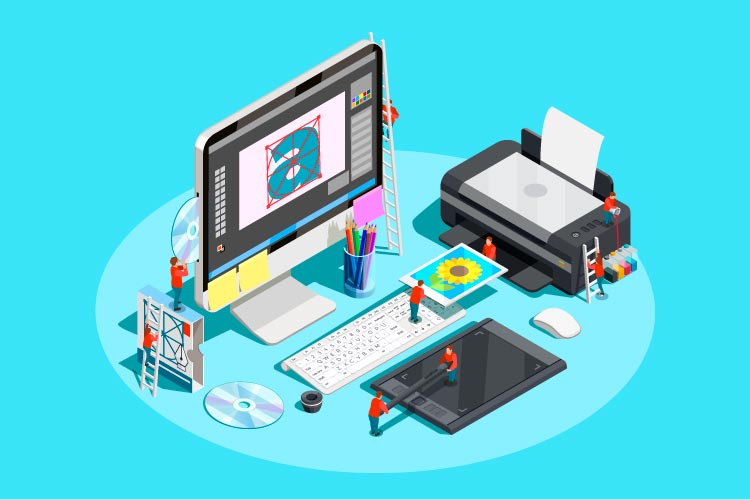 Printing Design Services - Elect